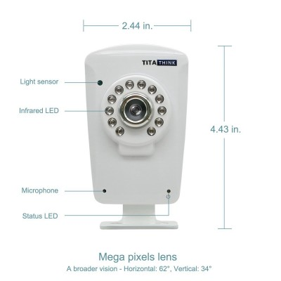 titathink indoor wireless home ip camera