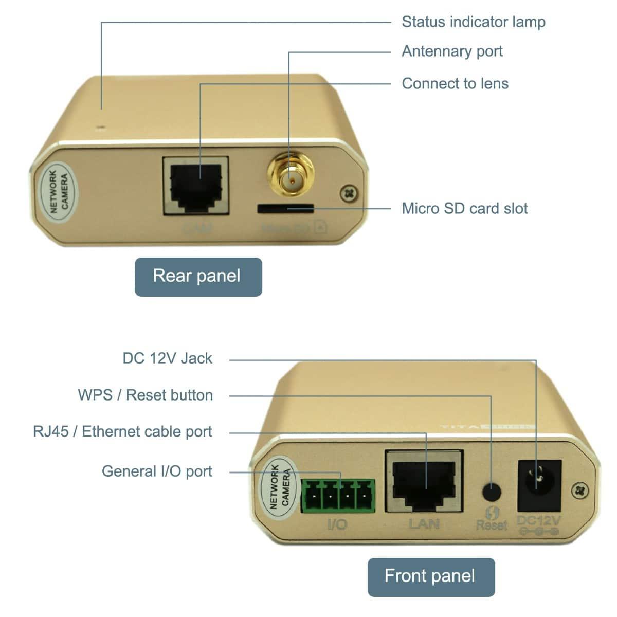 1080P Full HD WiFi Spy Hidden IP Camera
