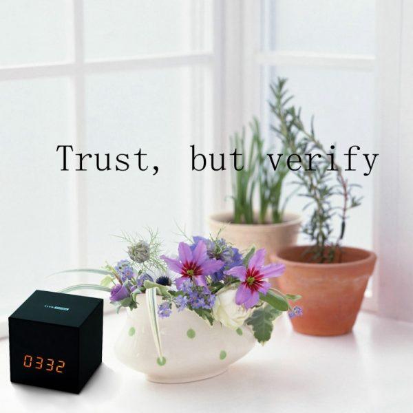 Titathink--Trust, but verfiy
