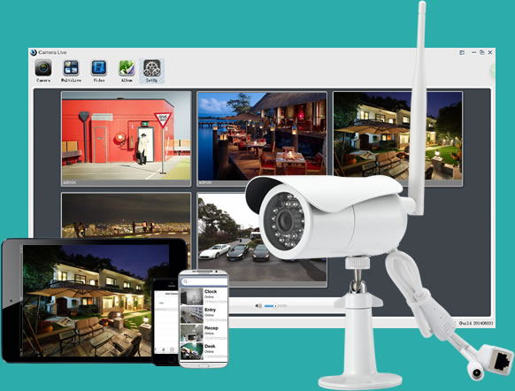 Outdoor secuirty camera--Titathnk