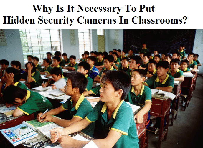 Security Cameras In Classrooms